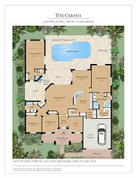 custom home builders floor plans the cabana