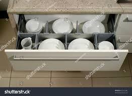modern kitchen plates drawer plates modern kitchen stock photo 39312298 shutterstock