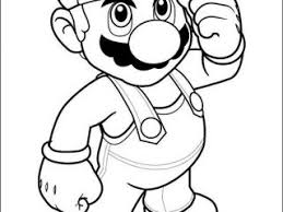 mario colouring super mario bros coloring pages coloring book