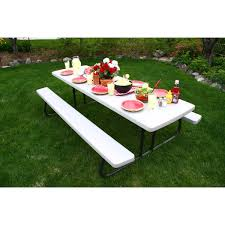 Costco Banquet Table Lifetime 6 Ft Folding Picnic Table Beautiful Fold Up Costco 21