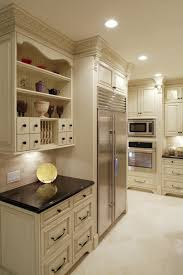 best kitchen cabinets mississauga ttraditional off white kitchen pantry side view jpg
