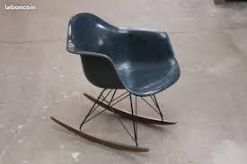 rocking chair vintage eames original herman miller design