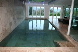 minimal windows to a lower ground floor basement pool with flush