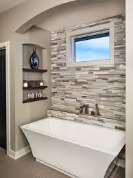 ideal bathroom remodeling ideas with best tub and unique wall