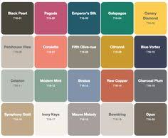 trending colors for 2017 new vintage paint color collection from sherwin williams hgtv