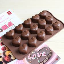 chocolate heart candy 15 large supply of silicone cake mold silicone cake mold chocolate