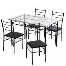 breakfast table with 4 chairs factory direct wholesale rakuten 5 pcs dining table set w 4