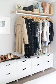 Dresser Ideas For Small Bedroom 14 Smart Storage Tricks For A Bedroom With No Closets Storage
