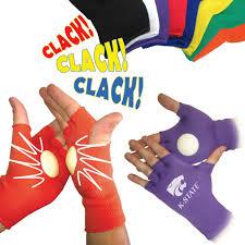 spirit clakker gloves unique logo imprinted sports giveaways