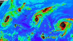 Caribbean Weather Map by Three Category 4 Hurricanes In The Pacific Ocean How Rare Is That