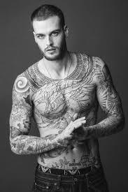 15 male models reveal the stories behind their tattoos gq