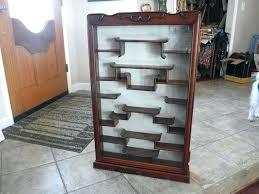corner curio cabinets for sale vintage curio cabinet vintage table top curio cabinet in vintage