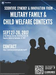 scientific synergy and innovation from military family and child