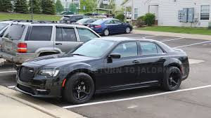 chrysler what the hell is this widebody chrysler 300 srt with dodge demon