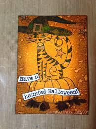 the gypsy owl art co halloween artist trading cards