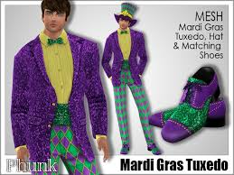 second marketplace phunk mesh men s mardi gras tuxedo