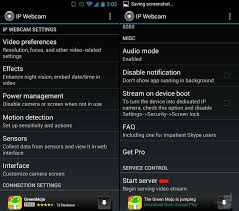ip android how to use an android phone as a security or a baby monitor