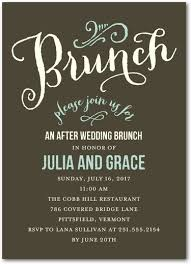 invitation to brunch wording wedding brunch invitation wording vertabox