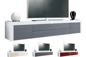 Meuble Colonne Laque Blanc by Meuble Mural Tv Design Meuble Tv Design Blanc 178 Cm
