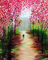 spring painting ideas 42 simple acrylic canvas painting ideas for beginners acrylic