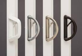 Patio Door Knobs Door Hardware And Window Hardware Options Milgard Windows Doors