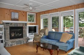 Open Concept Bungalow House Plans Cottage 131 For Rent On Chub Lake Near Huntsville In District Of