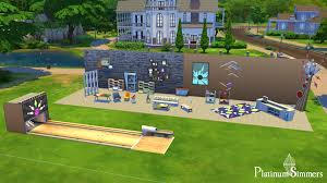 review the sims 4 bowling night stuff platinum simmers