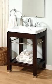 avenue inch white marble 24 single bathroom vanity set with mirror