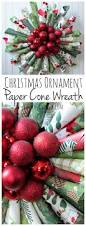 christmas ornament paper cone wreath paper cones christmas