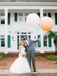 oversize balloons whimsical outdoor florida wedding from shipra panosian photography