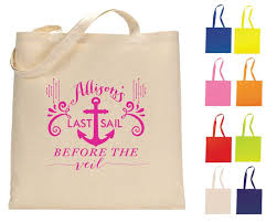 bachelorette gift bags 23 best wedding tote bags sip hip hooray images on