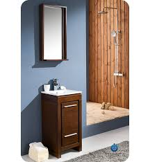 Vanity Small 16 U201d Fresca Allier Wenge Brown Fvn8118wg Small Modern Bathroom