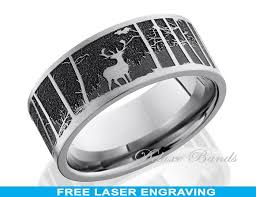 can titanium rings be engraved titanium wedding band ring elk mountain 8mm anniversary