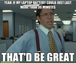 Battery Meme - laptop battery meme slapcaption com on we heart it