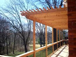 Pergolas And Decks by Wood U0026 Hardwood Decks St Louis Decks Screened Porches