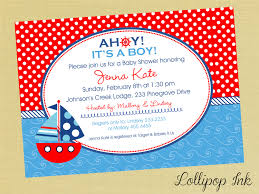 Design Your Own Invitations Nautical Baby Shower Invitations Iidaemilia Com