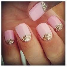 half moon nail designs how you can do it at home pictures