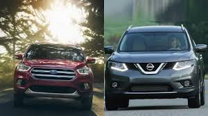 nissan rogue or murano 2017 ford escape vs 2016 nissan rogue youtube
