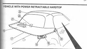 help power hard top stuck 3 4 open mx 5 miata forum