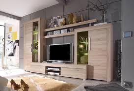 wohnzimmer schrankwand modern wohnwand anbauwand schrankwand wohnzimmer thomson eiche ebay