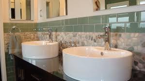 bathroom backsplash designs backsplash unique pebble backsplash for unique kitchen or bathroom