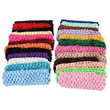 crochet band 50 stretch 1 5 crochet baby hair band headbands