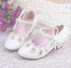 wedding shoes for girl 2016 children princess sandals kids wedding shoes high