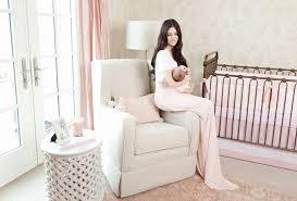 pink peonies nursery rachel parcell of pink peonies isla s nursery reveal
