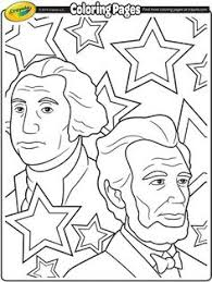 presidents day printable coloring pages color george washington social studies homeschool and