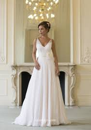 v neck wedding dresses v neck sleeveless a line layered chiffon simple wedding