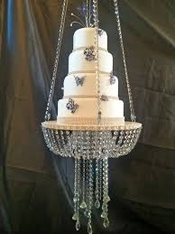 All Crystal Chandelier Faux Crystal Chandelier Style Drape Suspended Cake Swing
