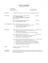 Sample Resume For Internship In Computer Science by Curriculum Vitae Engineering Student Resume For Internship