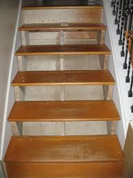 Stairs Without Banister Correcting Stair Riser Height In Place