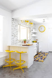 Urban Farmhouse Kitchen - ikea large wall clock makeover classy clutter